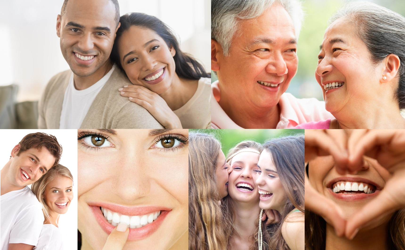 Kare Dental Vancouver Smiles Collage